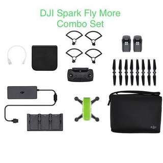 DJI Spark Fly More Combo ( NEW )