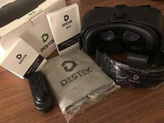 DESTEK V4 VR Google + Remote Controller