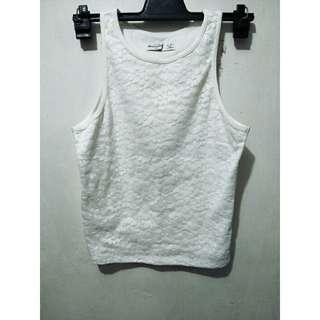 Abercrombie Lace Cotton Top