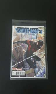 Spider-man #1 Second Printing Miles Morales