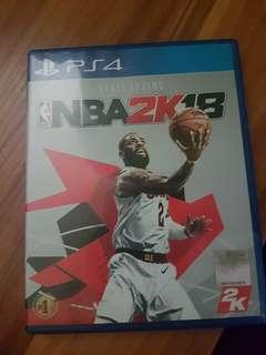 (Ps4)NBA 2k18