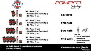 NILS ENGINE OIL PACKAGES