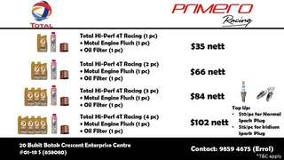 TOTAL ENGINE OIL PACKAGES