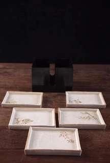 日本手繪古陶果子器