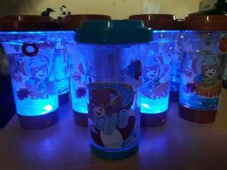 Milk shaker with lights 9pcs.
