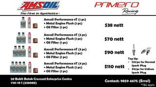 AMSOIL ENGINE OIL PACKAGES