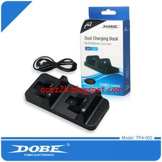 DOBE PS4 Dual Controller Charging Station