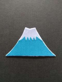 Mt Fuji Japan Jpop Iron On Patch