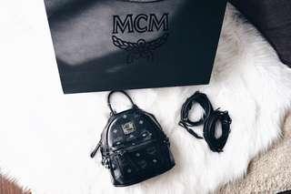 MCM Bebe Boo X-Mini Stark Backpack