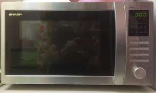 Sharp R-754AST Microwave oven with grill