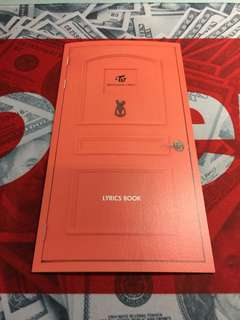 Twice Lane 2 knock knock lyrics book
