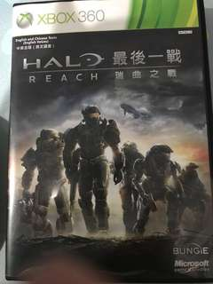 Halo Reach Xbox360 with halo journal
