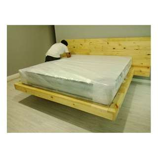 Made to Order Pallet  Floating Bed frame