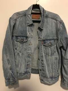Levi's vintage oversized denim jacket size s