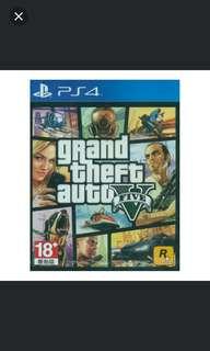 PS4 Grand Theft Auto V (R3)