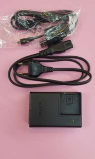 Sony camera lion battery charger BC-CSKA