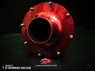 AIR FILTER SPORT 3knn APOLLO OPEN Pod RED color