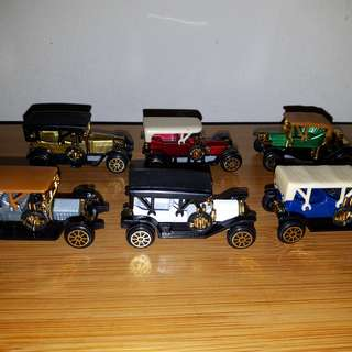 Miniature Vintage Cars Set (30 years old)