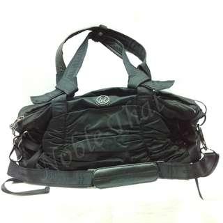 lululemon athletics -女裝黑色尼龍手袋. 90% 新.