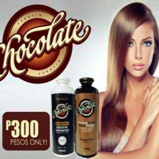 B1G1! Choco Keratin Shampoo and conditioner