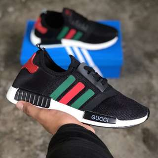 Nmd Runner X and  Gucci V2