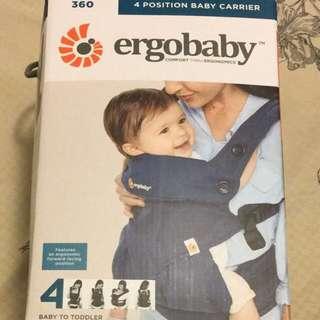 Ergobaby Four Position 四式 360 嬰兒揹帶 Midnight Blue
