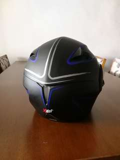 Xdot Fullface Helmet double visor