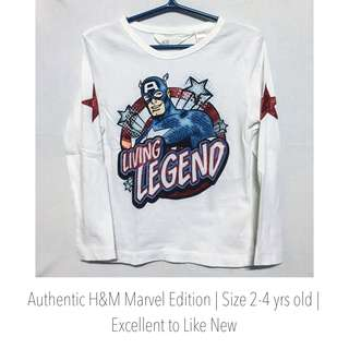 H&M Marvel Edition Captain America