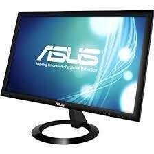 歡迎議價 ASUS 華碩 Mon 電腦螢幕 電視 22-inch Full HD Ultra Slim Gaming Monitor 1080p 1ms Rapid Response Time Built in Speakers Low Blue Light ASUS EyeCare VX228H