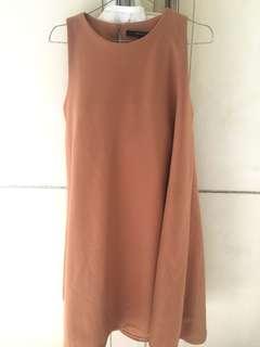 ShopatVelvet creme sleeveless dress