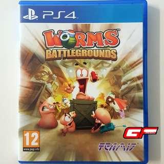 PS4 WORMS BATTLEGROUNDS