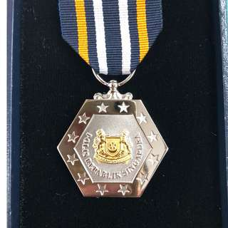 Singapore Police Force Good Conduct and Long Service Medal