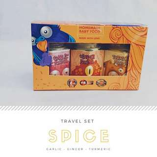 Travel Set Seasoning (Free 4 sachets plain cereal)
