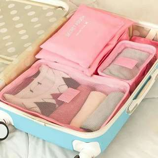 6in1 Travel Luggage Organizer