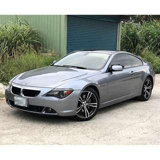 2006年出廠 BMW E63 650I 銀灰色