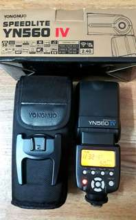Yongnuo 560iv speedlite for Canon