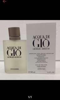 GIO Giorgio Armani US tester 100ml perfume