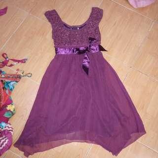 Party dress / dress hamil / baju hamil / baju butik / baju import