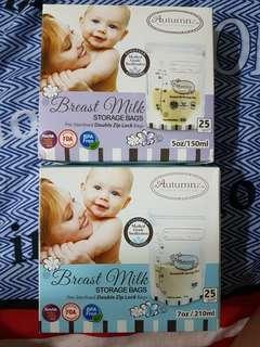 Autumnz Breast Milk Storage Bags