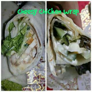 Pita wrap in yummy different flavors ( minimum atleast 3 orders)