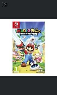 Switch Mario+Rabbids Kingdom Battle