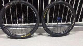 """Hope Pro 2 Evo & Hope Pro 4 26"""" wheelset"""