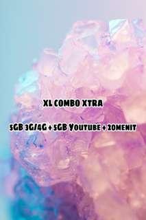 PAKET KUOTA XL COMBO XTRA