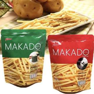 Makado fries from Thailand