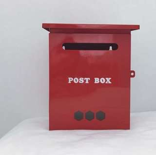 Red Post Box for rent