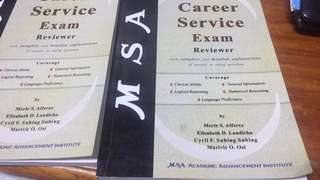 MSA CSE reviewer