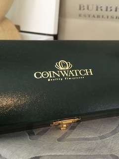 Authentic ICW Coin Watch Case
