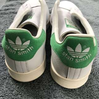 Adidas Stan Smith green and white
