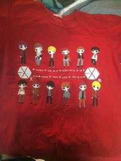 exo t shirt
