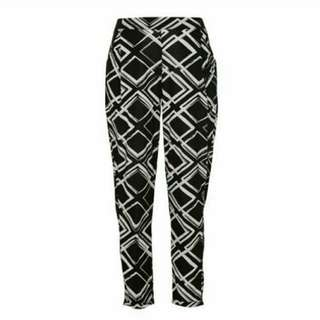 🚚 [70% OFF] Factorie New Jersey Harem Pant (Giant Geo/B&W)
